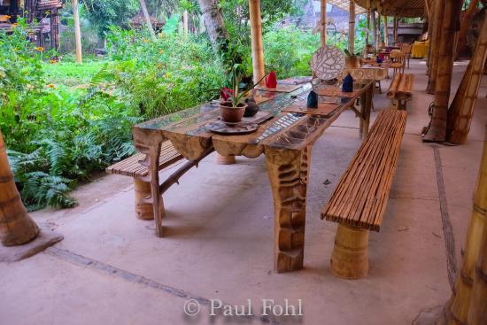 Bambu indah restaurant bambu indah maison en bambou