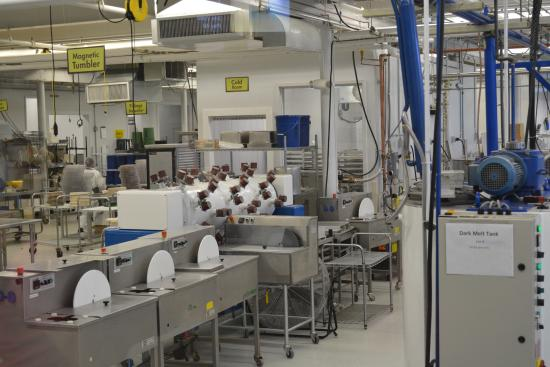 Chocolate Factory - Picture of Lake Champlain Chocolates ...