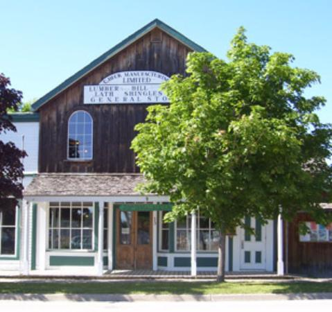 Penetanguishene Centennial Museum (The original Beck Lumber Co General store)