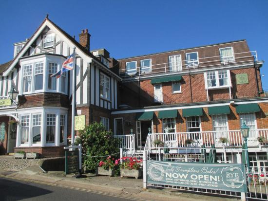 Rye Lodge Hotel Lovely Sun Terrace