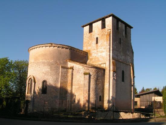 Eglise de montcaret