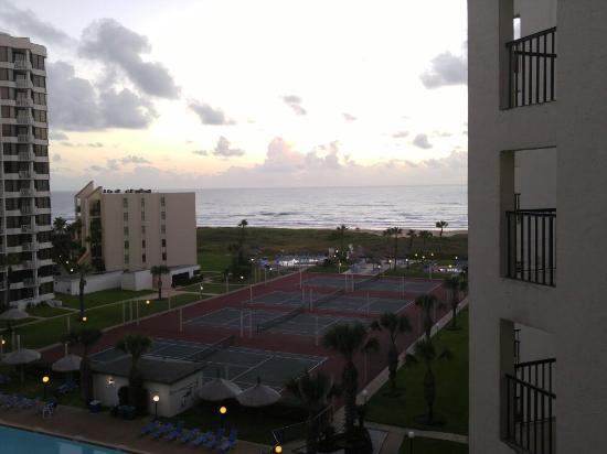 Royale Beach and Tennis Club: Early morning from saida iv