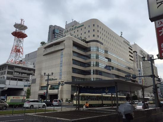 ホテルメルパルク広島の外観、客室は8階~11階です。 Picture Of Mielparque