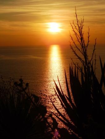 Albergo Belvedere: il tramonto dalla terrazza