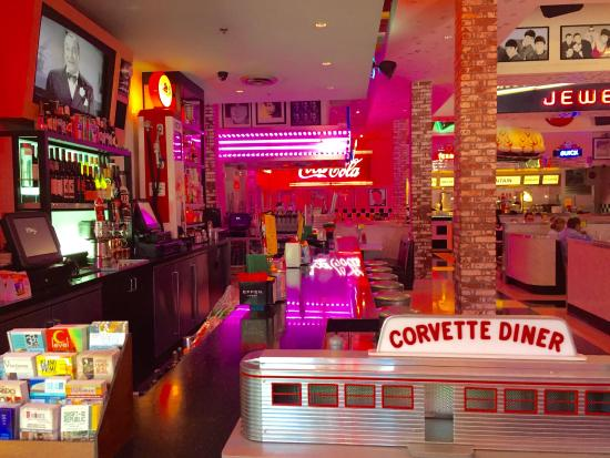 corvette diner vibrant bar area. Cars Review. Best American Auto & Cars Review