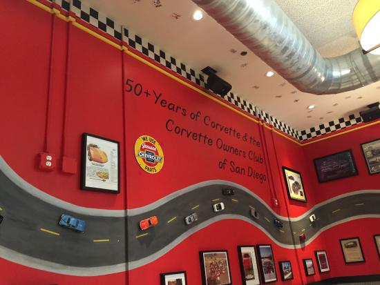 corvette owners club picture of corvette diner san diego. Cars Review. Best American Auto & Cars Review