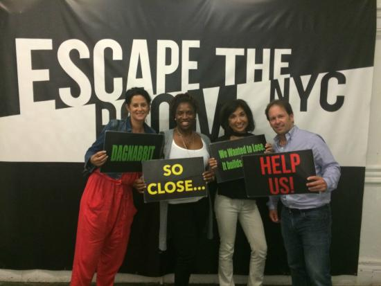 Escape The Room NYC - The Theater - Picture of Escape The Room NYC ...