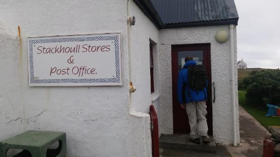 the only shop / post office on the island - Picture of South ...