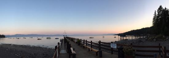 Carnelian Bay, CA: A great view from the patio.
