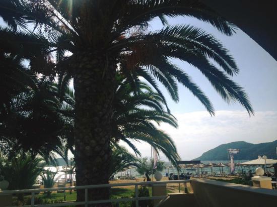 Vournelis Beach Hotel & Spa: Θέα από το μπαλκόνι του δωματίου