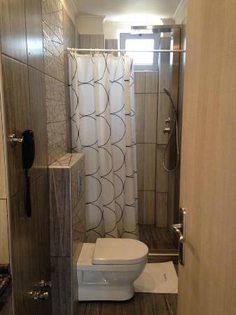 Vournelis Beach Hotel & Spa: Εξαιρετικά όμορφο μπάνιο,πεντακάθαρο