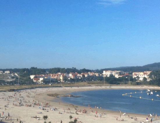 Hotel Varadoiro: vistas desde la ventana de la habitación