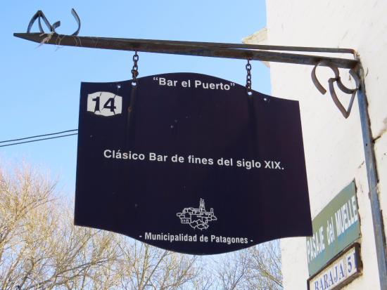 Carmen de Patagones, Argentina: Bar El Puerto