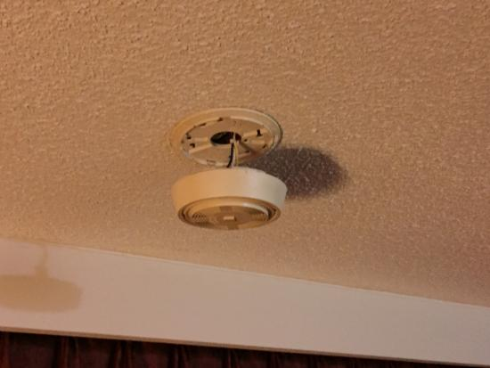 Red Roof Inn Lexington - Winchester: The smoke alarm I mentioned in my review