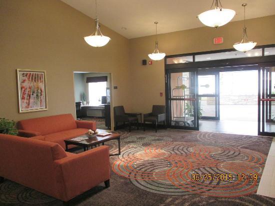 Hornell, NY: Lobby area
