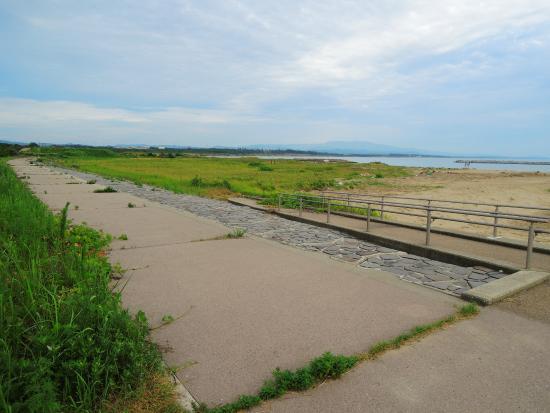 Ishikawa(prefektur) , Japan: 海岸線は風も気持ちいい