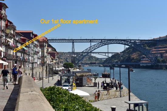 Ribeira Apartments: View from 1st floor apartment