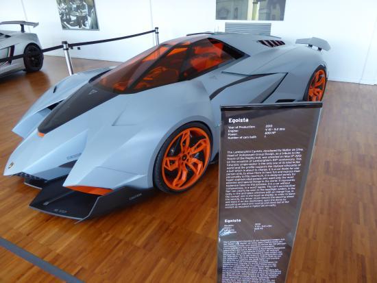 Lamborghini Museum: Lambo Prototype