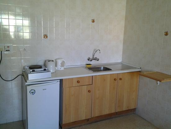 Alborada Apart Hotel: cocina