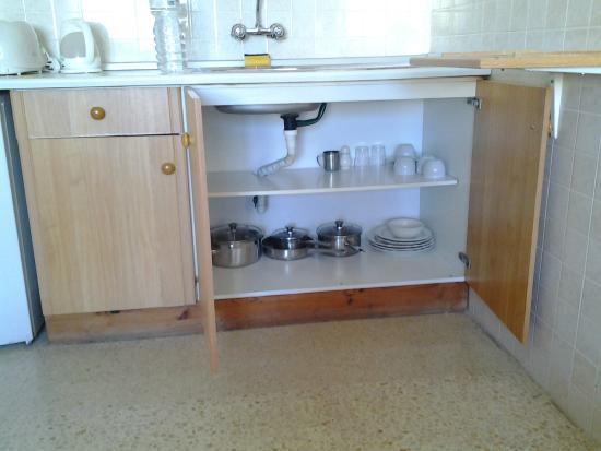 Alborada Apart Hotel: Dispensa cocina