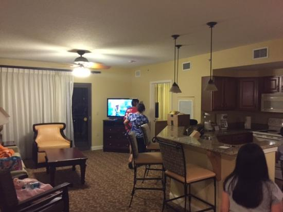 3 Bedroom Suite Picture Of Wyndham Bonnet Creek Resort Orlando Tripadvisor