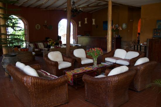 Eco Andina Hotel: Recepcion