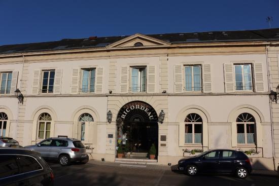 Hotel Restaurant Ricordeau: La façade du Ricordeau