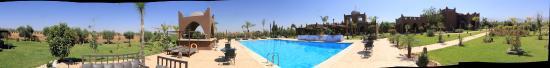 Lalla Takerkoust, Марокко: vue panoramique de l'établissement