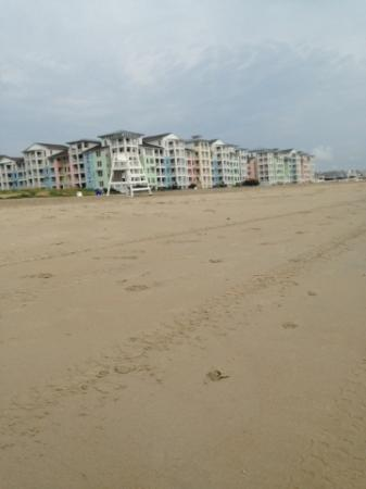 Sanctuary Realty at False Cape : walk over to the fishing pier