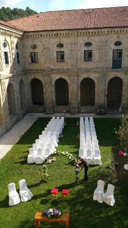 Leiro, España: Hotel Eurostars Monumento Monasteiro de San Clodio