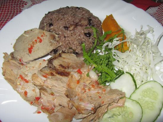 El Alba : Asado de cerdo con arroz