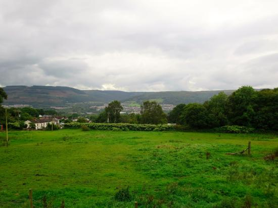 Tunnel Cottages: The view