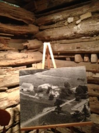 Museum of Rural Life: Log cabin installation salvaged from this farm