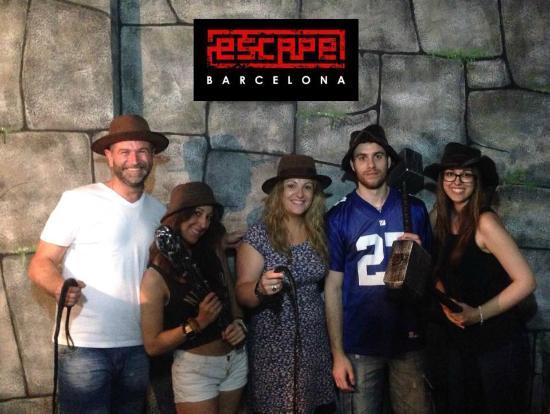 Escape Room Barcelona El Templo Perdido