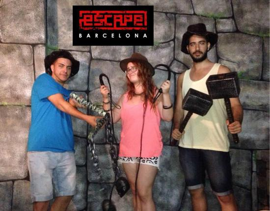 Escape Room Barcelona Paseo Valldaura