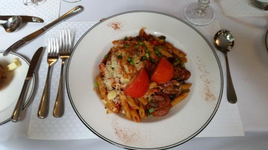 Sackville, Canada: Penne with Italian Sausage