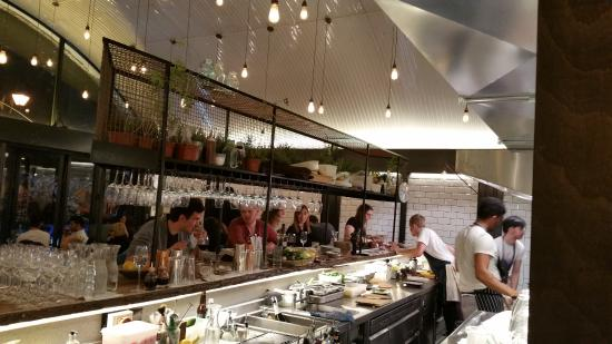 Great Open Kitchen View Picture Of Paradise Garage London