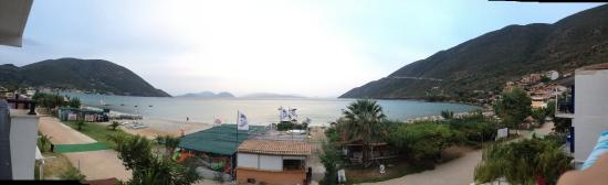Grand Nefeli: Panoramic view from the balcony of our room