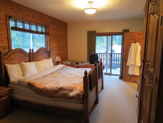 Winston Lodge & Spa: Luxury room