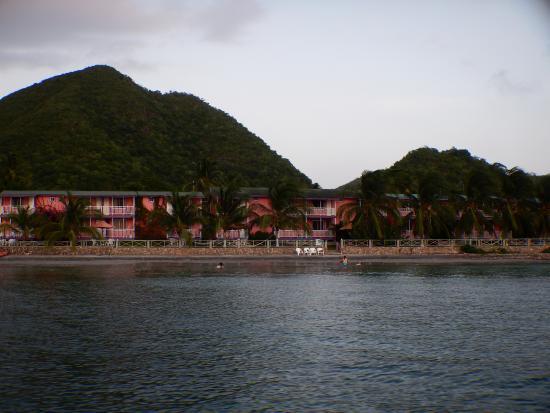 Posada del Mar: El hotel desde el mar