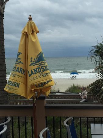Landshark Bar Grill Myrtle Beach Deck View