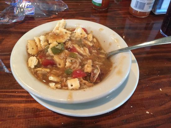 Town Creek, AL: Seafood Gumbo