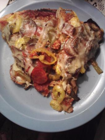 Coccia House Pizza: The Works Pizza with Free Extra Cheese, comes with Anchovies if you like them.