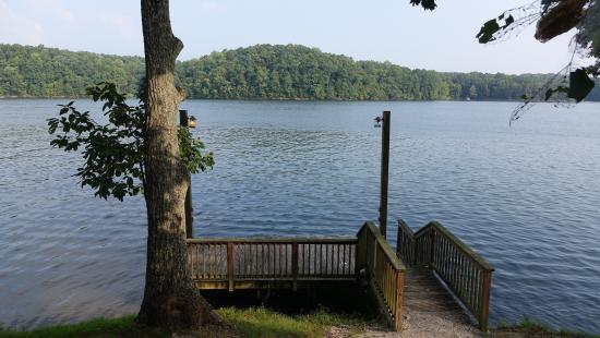 Rogersville, AL: View from lakeview cabin pier