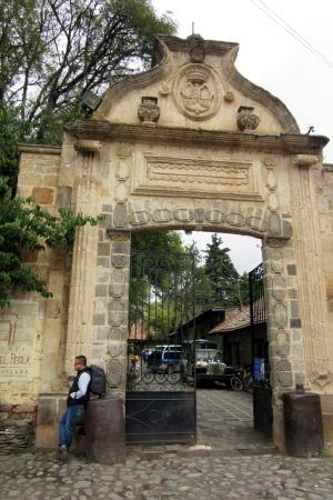 San Miguel Regla, Mexique : Entrada