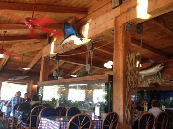 Interior view picture of fish house vera cruz carlsbad for Fish restaurant carlsbad