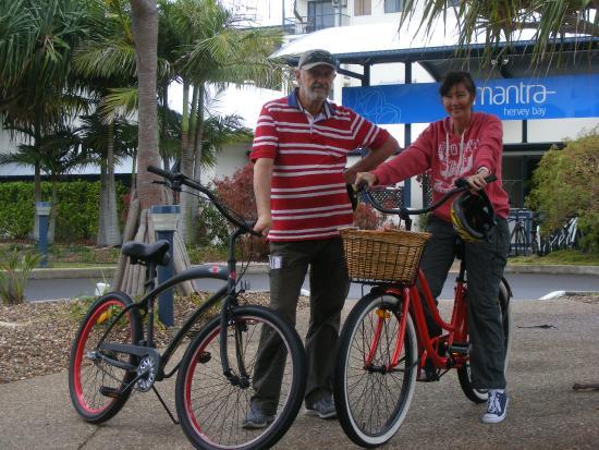 Beach n Cruisers Unique Bike Hire: Beach n Cruisers Bike Hire Hervey Bay