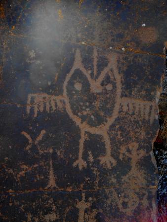 Dallesport, WA: Petroglyph