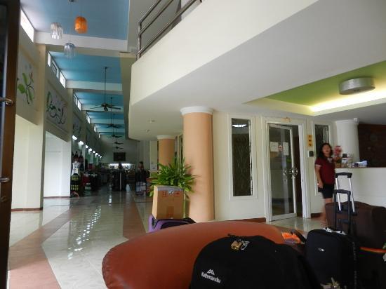 Phuket Center Apartment: reception area