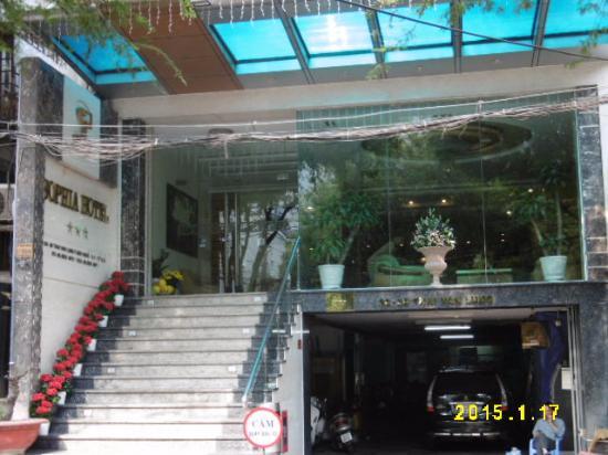 Sophia Hotel: 入口